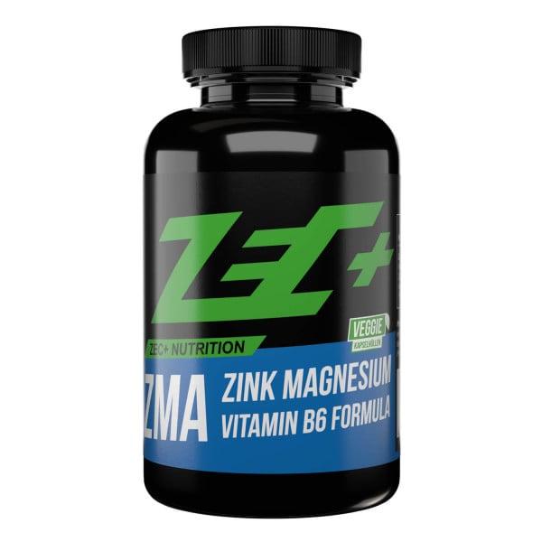 ZEC+ ZMA Kapseln mit Zink, Magnesium & Vitamin B6, 90 Stück