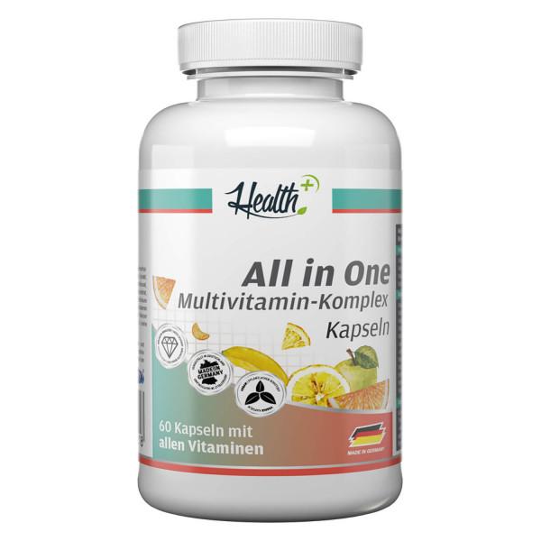 HEALTH+ ALL IN ONE Multivitamin Komplex, 60 Kapseln