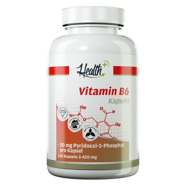 HEALTH+ VITAMIN B6 Kapseln 50 mg, 120 Stück