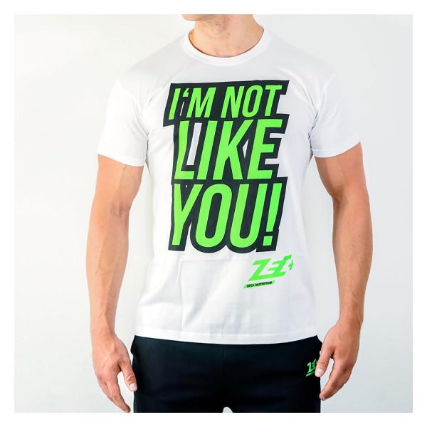 ZEC+ INLY Herren T-Shirt weiß