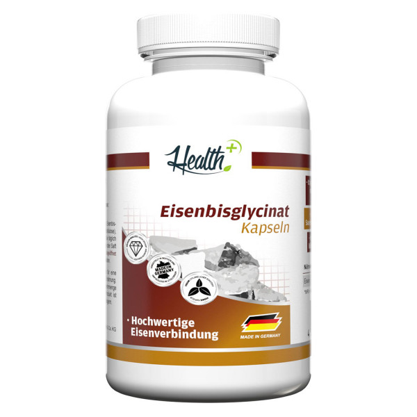 HEALTH+ EISENBISGLYCINAT 120 Kapseln