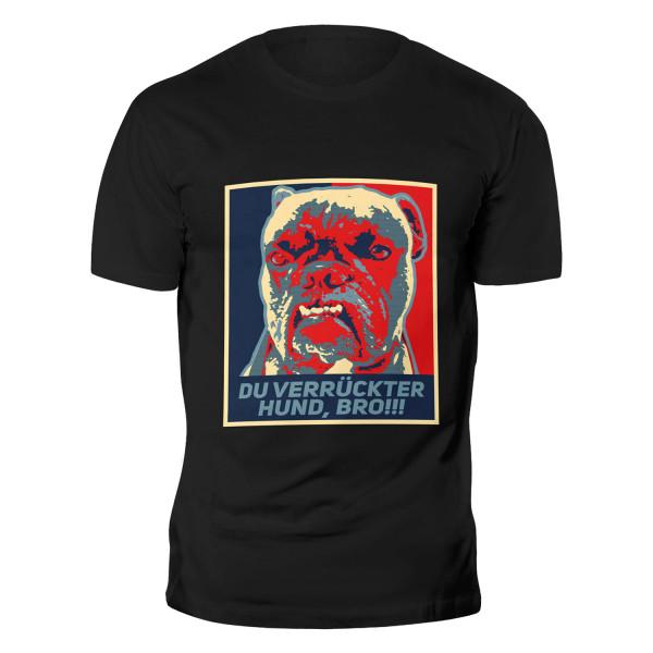 AMINO VERRÜCKTER HUND T-Shirt