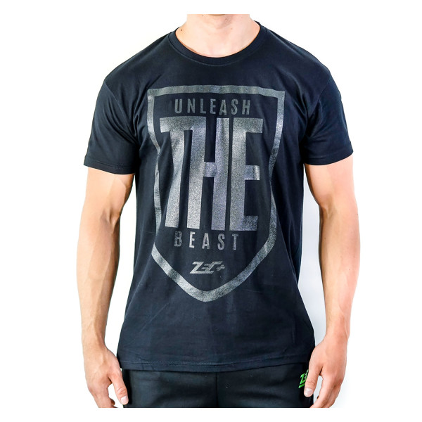 ZEC+ UNLEASH THE BEAST Herren T-Shirt schwarz