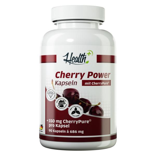 HEALTH+ CHERRY POWER Kapseln, 90 Stück