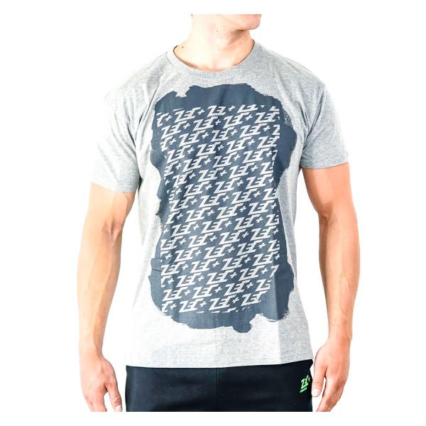 ZEC+ MULTILOGO Herren T-Shirt grau
