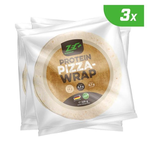 ZEC+ PROTEIN PIZZA WRAPS - 3er Pack