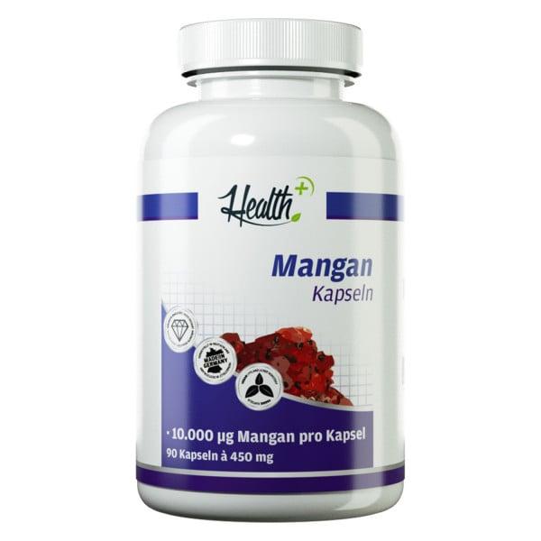 HEALTH+ MANGAN Kapseln 10 mg, 90 Stück