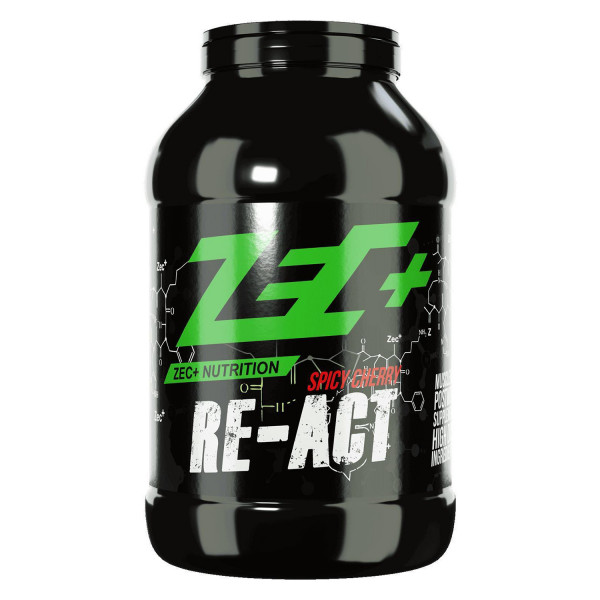 ZEC+ RE-ACT Post Workout Shake, verschiedene Sorten 1800g oder 3600g